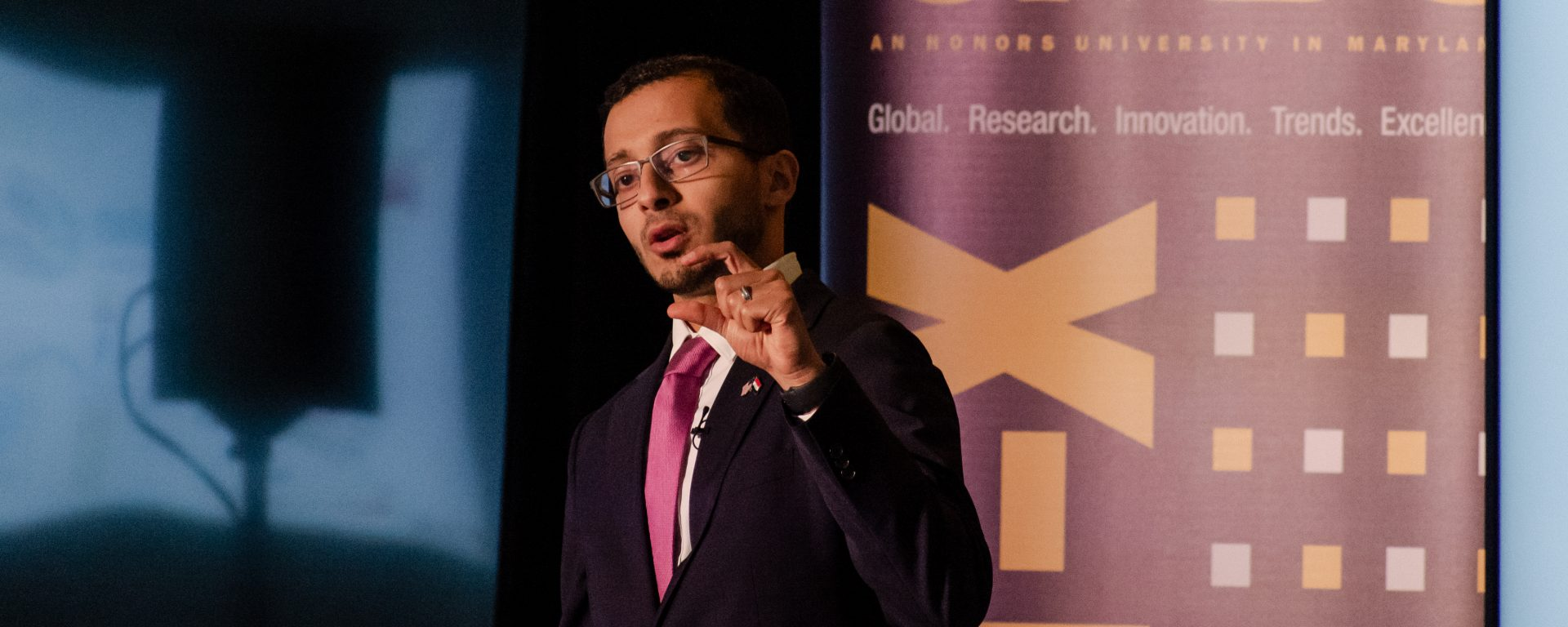 Ph.D. student Mustafa Al-Adhami wins national Three-Minute Thesis competition