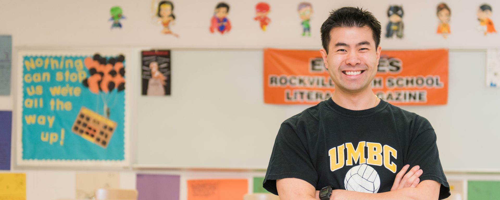 Graduate School alumnus Sean Pang named 2019 Claes Nobel Educator of the Year